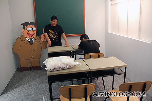 Nobita's teacher