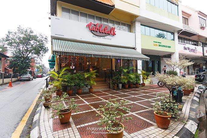 Tabletalk Restaurant TTDI Kuala Lumpur Malaysian Flavours - Table talk menu