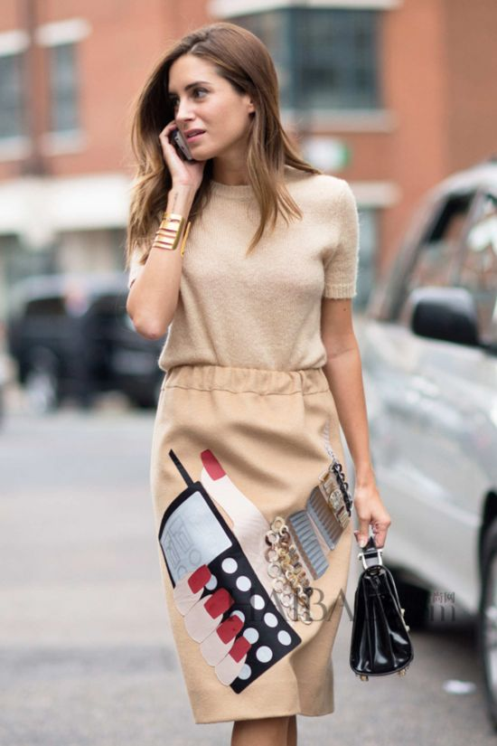 Look of the Day.376: Beige LFW