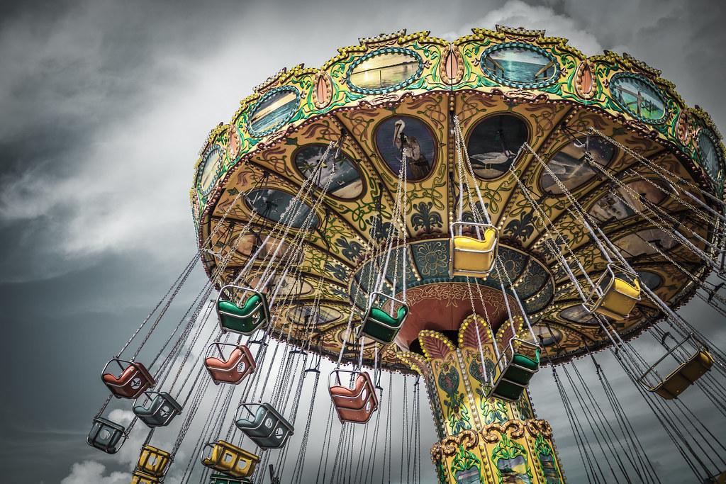 Swing Ride On The Pleasure Pier