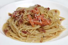 Spaghettoni di Massimo Mancini alla Gricia