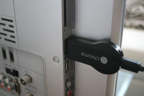 09 - Google Chromecast - An Fernseher anschließen