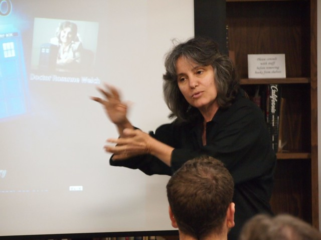 Dr. Rosanne Welch speaks on Feminism in the Whoniverse at Cal Poly Pomona - 04