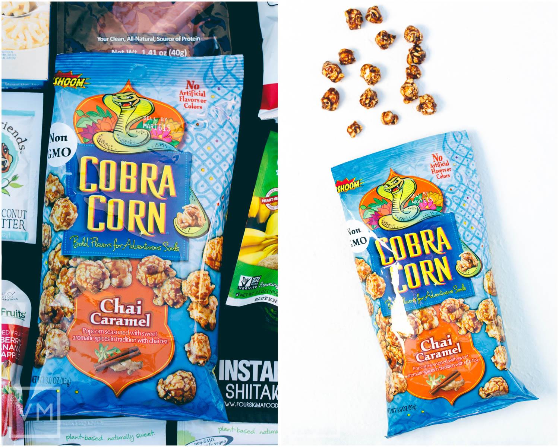Cobra Corn Chai Caramel Popcorn
