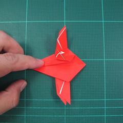 วิธีพับกระดาษเป็นรูปแมลงปอ (Origami Dragonfly) 017