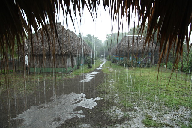 Afternoon rain at Rancho Tranquilo, Los Zorros