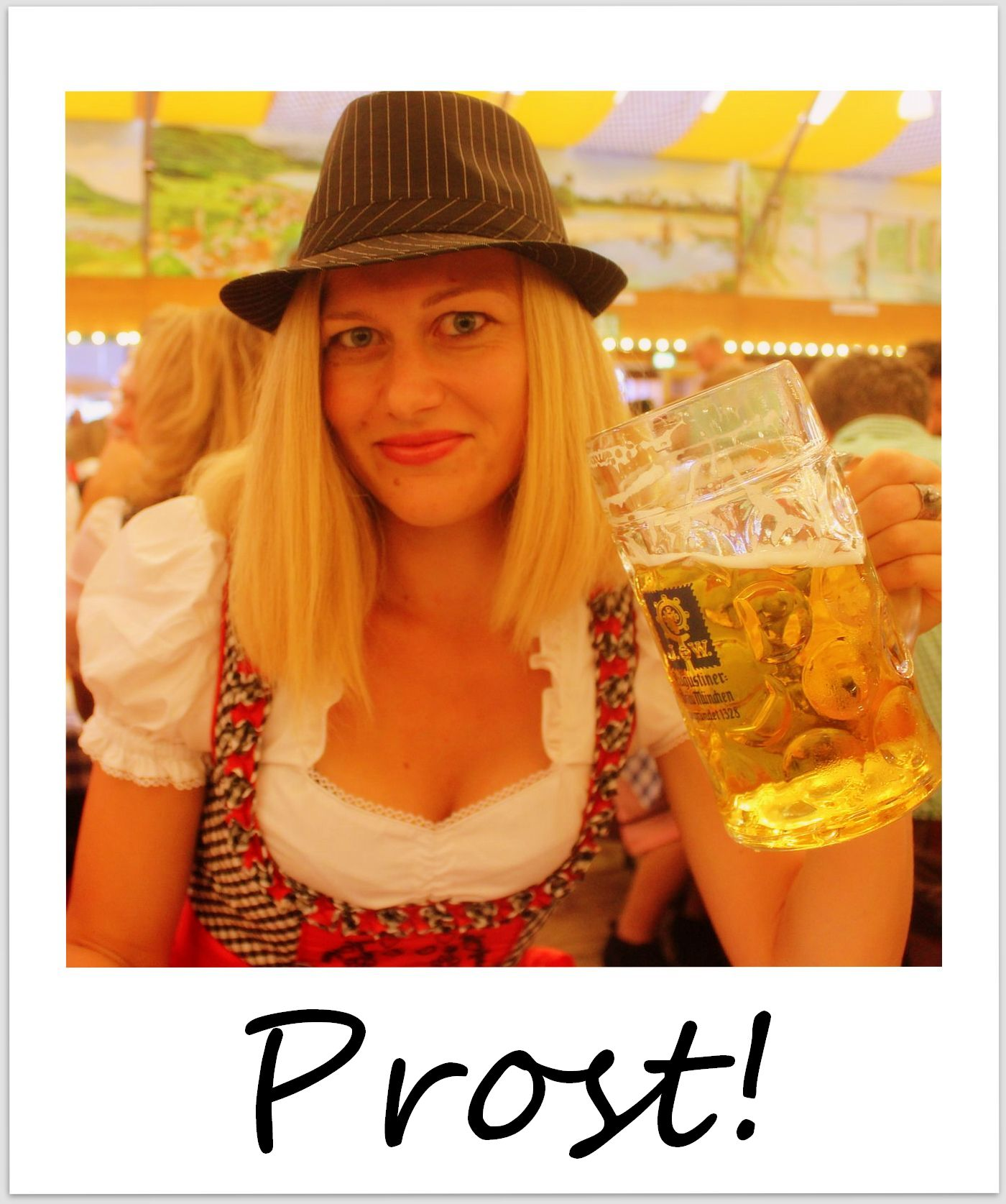 polaroid of the week germany munich oktoberfest