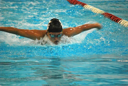 Sports - Alexis Scmidt swimming