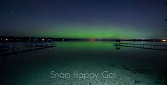 Aurora and Spot-Lit Torch Lake