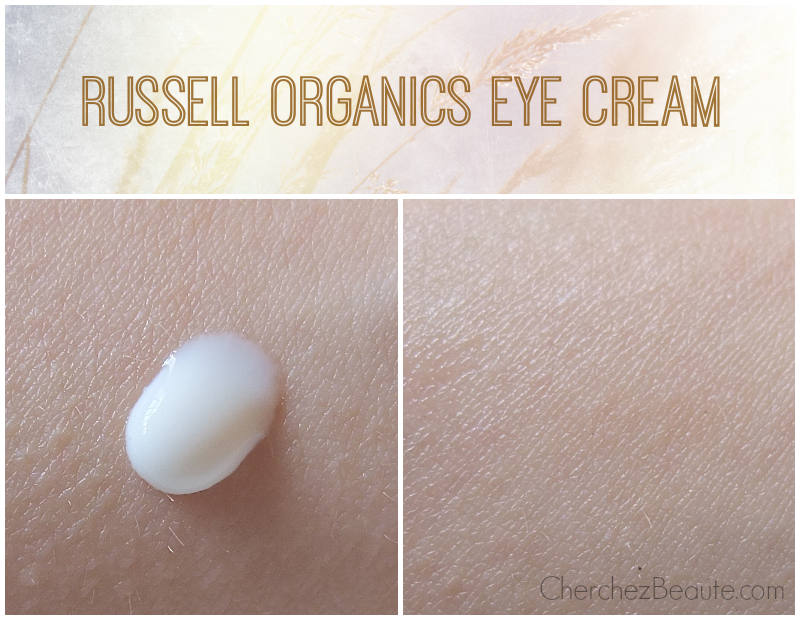 Russell Organics Eye Cream pic