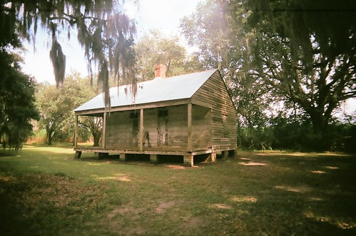 Slave cabin at Evergreen