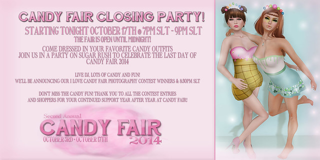 Candy Fair 2014 Closing Party