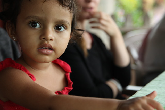 Cute little girl in Miraflor, Nicaragua