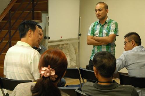 中國「友善環境農業專業交流團」參訪生態綠。