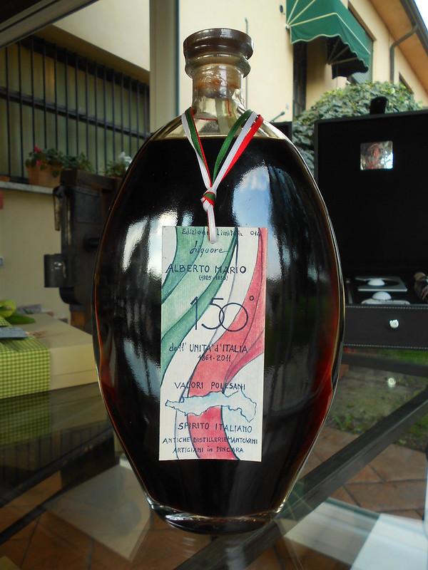 liquore, Alberto Mario, valori polesani, spirito italiano, 150 unità d'Italia