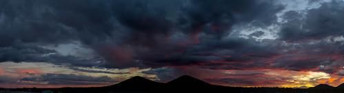 sunset arizona sky panorama weather clouds landscape flagstaff autoimport