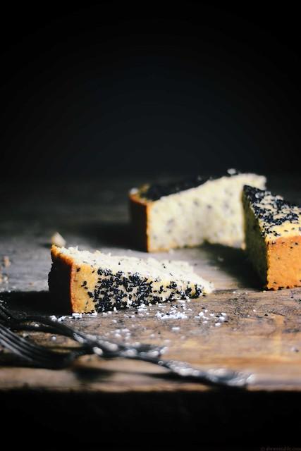 Sesame Tahini Baath (Goan Coconut Cake) Cake | A Brown Table