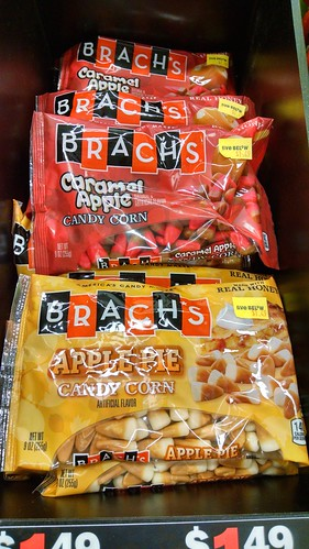 Brach's Caramel Apple Candy Corn and Apple Pie Candy Corn