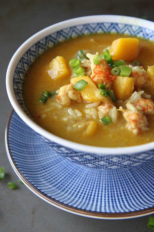 Curried Shrimp and Pumpkin Soup