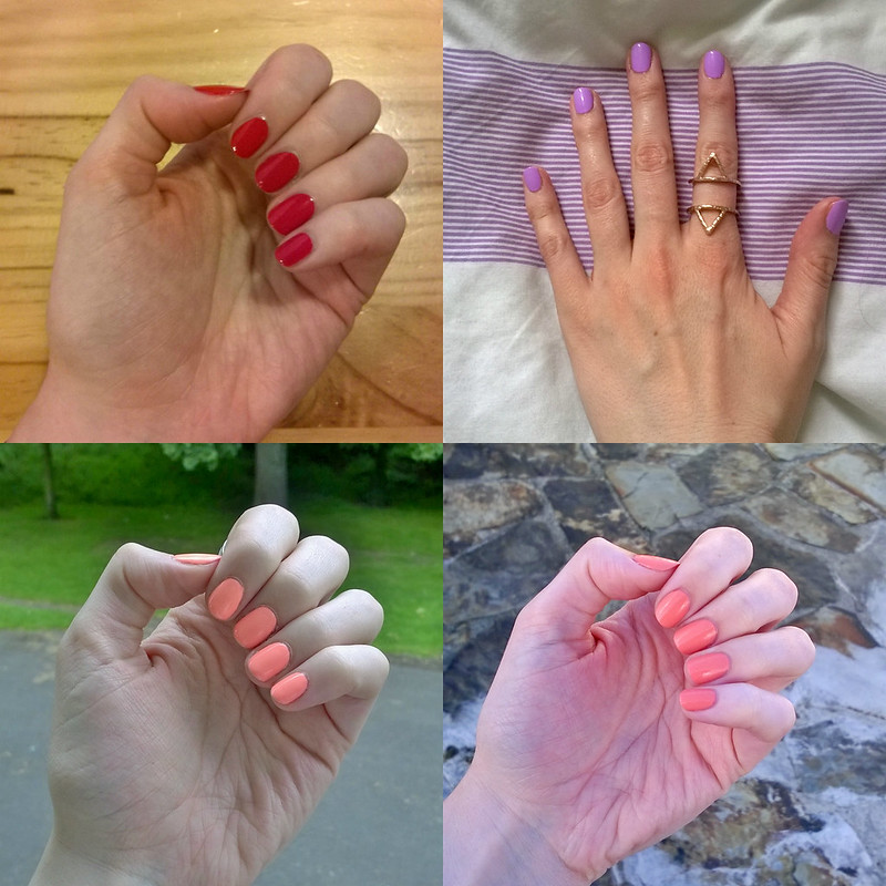 June Instanails Collage