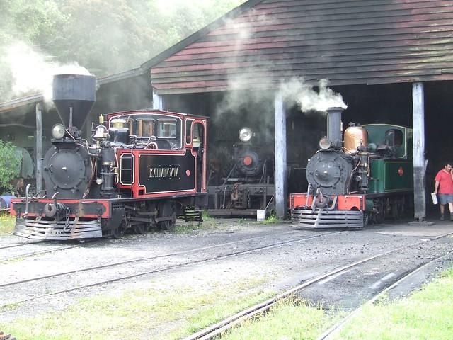 Steam trains train