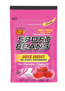Sport Beans Fruit Punch, BCRF Donation Bag