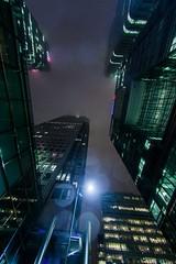 Canary Warf cityscape (London)