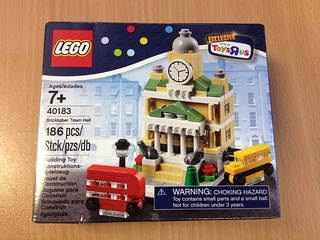 Lego 40183 Town Hall - Bricktober Sets 2014