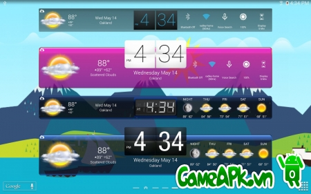 HD Widgets v4.1.1 cho Android