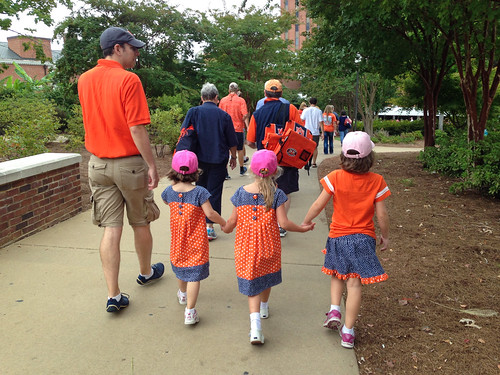Our own Tiger Walk