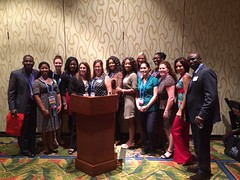 Alumni/Student Networking at AANA Annual Congress