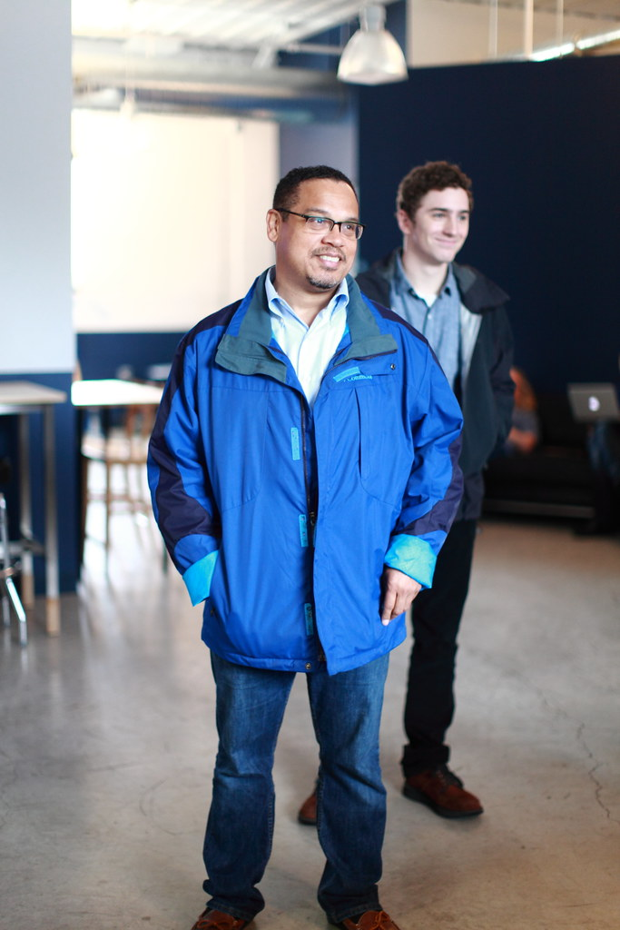 Keith Ellison stopped by Clockwork