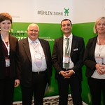 The team from the Mühlen-Sohn exhibition booth