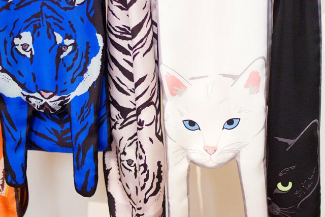 Cleo Ferin Mercury SS15 cat scarves