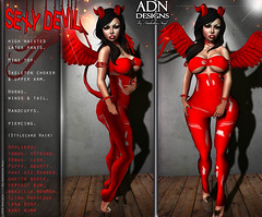 [ADN] SEXY DEVIL (Appliers Included)