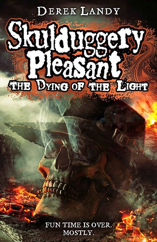 Derek Landy, Skulduggery Pleasant - The Dying of the Light