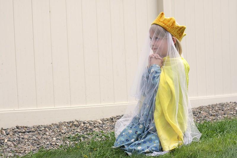 the princess prays for St. Michael