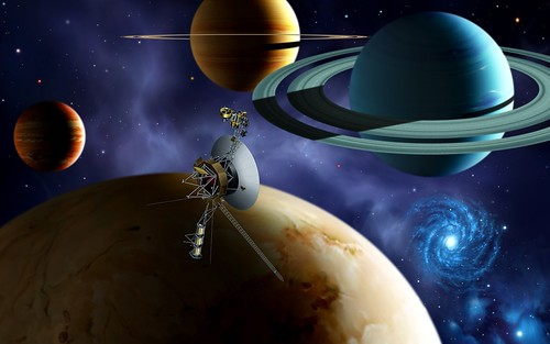 Space Probes: voyager 2