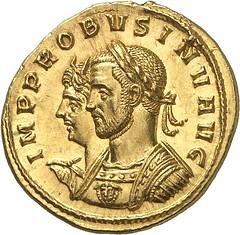 130a PROBUS, 276-282. Aureus, Siscia