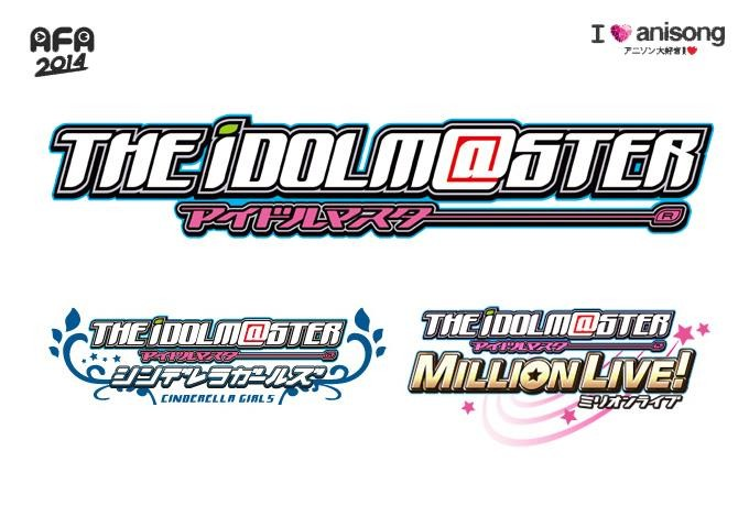 Five More Acts Complete AFA 2014 I Love Anisong Mega Anime Music Festival Line-up The idolm@ster
