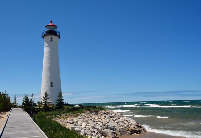 Crisp Point Lighthouse, MI