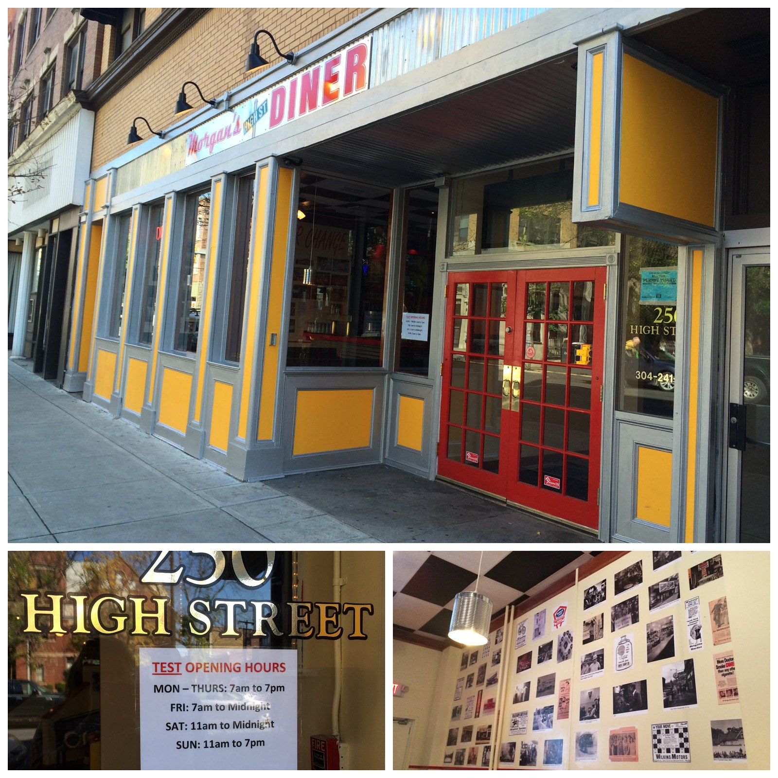 Morgan's High St. Collage