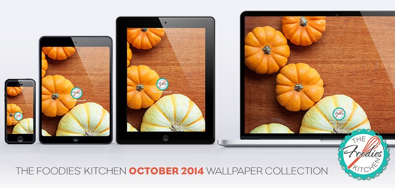 #FoodiesFreebies: October 2014 Wallpaper Collection at The Foodies' Kitchen.
