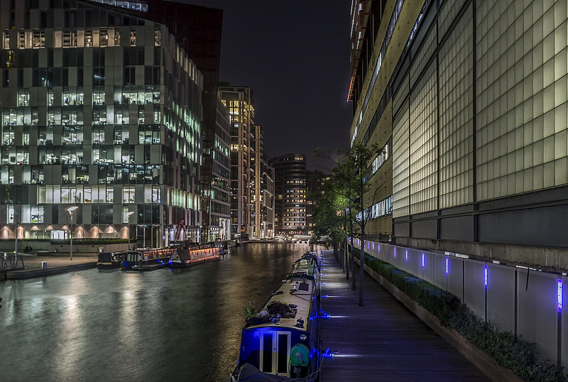 London, Paddington basin