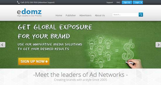 eDomz CPM Ad Network
