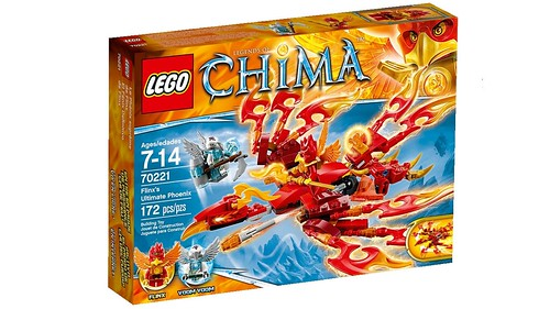 LEGO Legends of Chima 70221