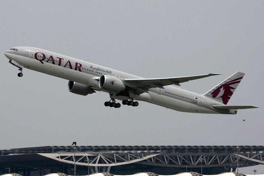 A7-BEB - B77W - Qatar Airways