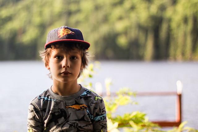Axel va au Lac 60 arpents