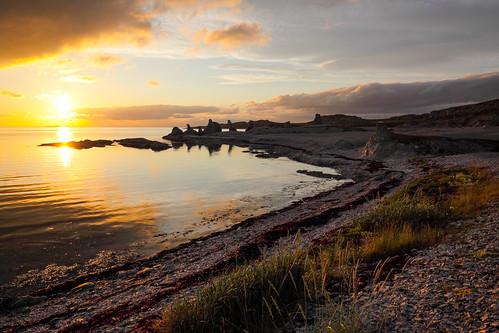 norway norge nordnorge finnmark fjæra porsangerfjorden northernnorway kolvik trollholmsund steintroll porsangerkommune