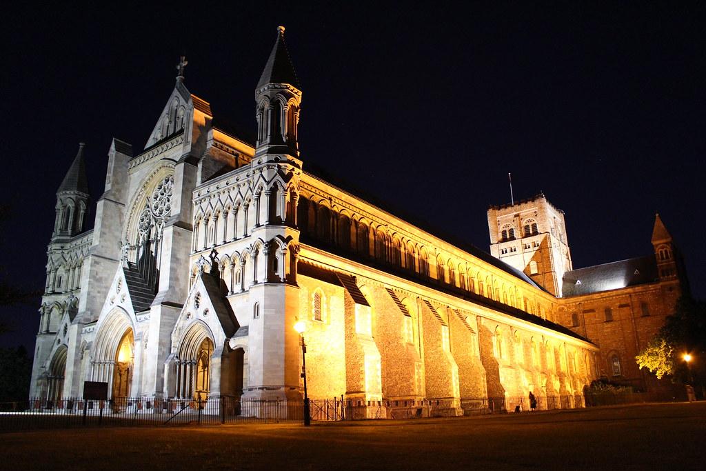 St Albans 대성당.JPG